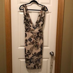Beautiful, sexy, ruched dress NWOT